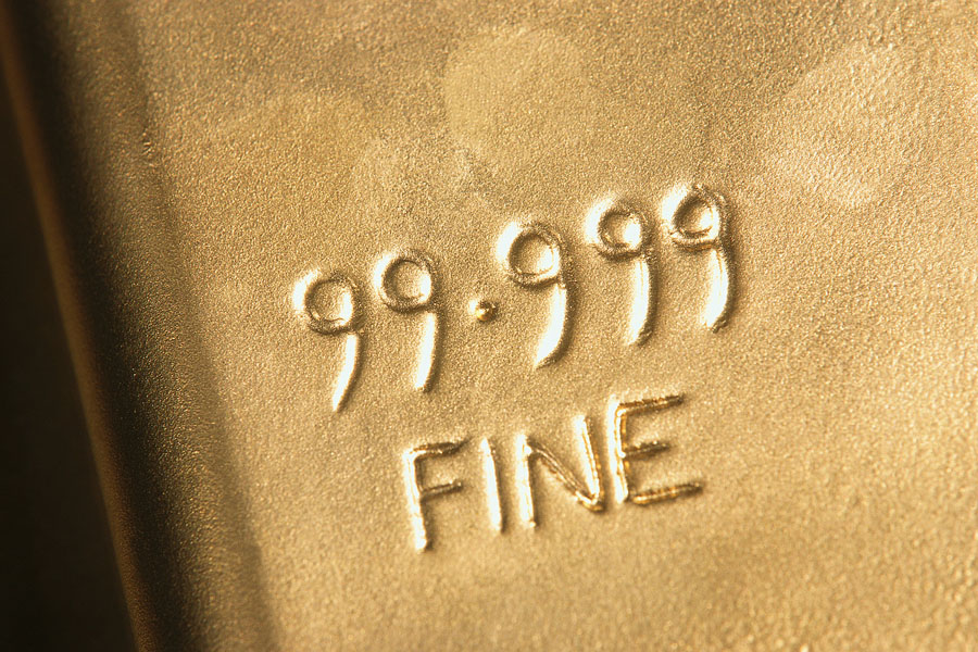 Indications on Gold Bar