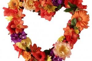 Autumn Floral Heart